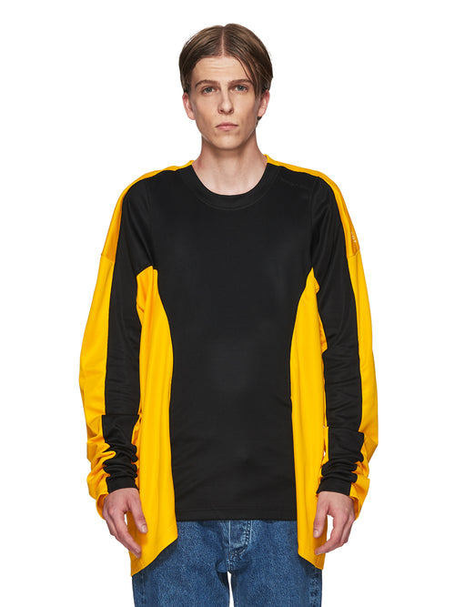 Y/Project Black and Yellow Skinny Long-Sleeve T-Shirt odd92 - 1