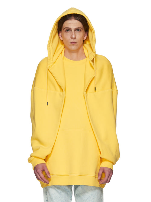 Y/Project Yellow Paneled Hoodie odd92 - 2