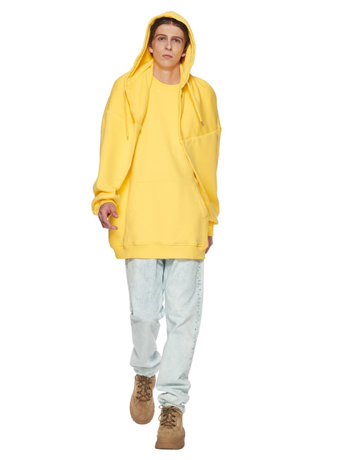 Y/Project Yellow Paneled Hoodie odd92 - 1