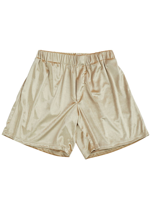 odd92 Shop Lazoschmidl Spring/Summer 2019 Menswear Peter Velour Shorts - 1