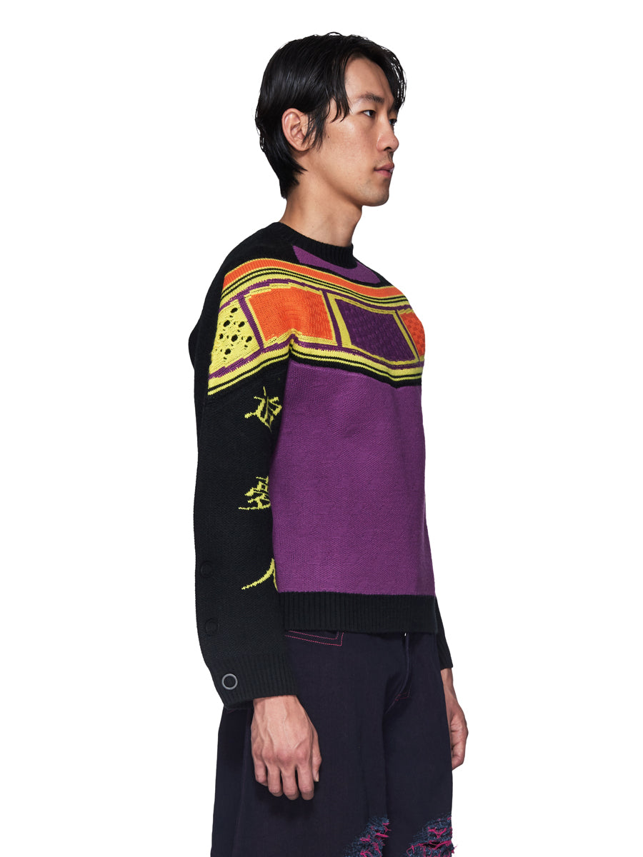 Angus Chiang Fall/Winter 2018 Menswear Dreamcatcher Knit Sweater odd92 - 3