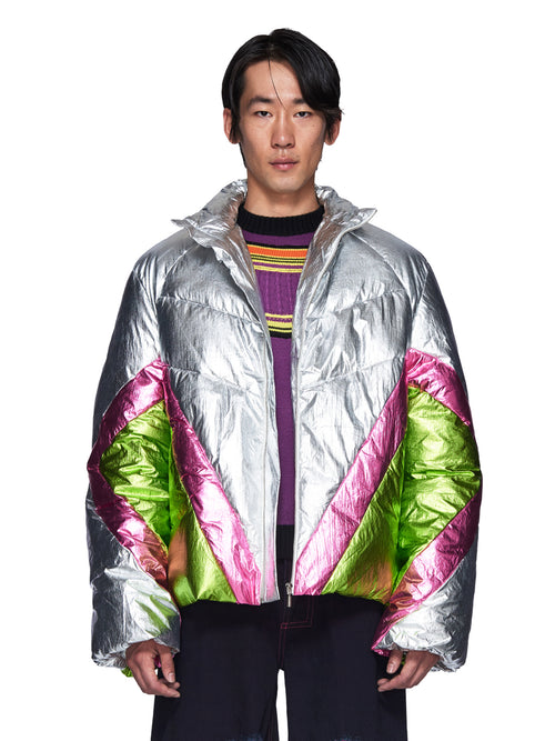 Angus Chiang Fall/Winter 2018 Menswear Patch Down Jacket odd92 - 2