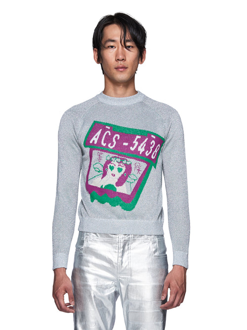 Angus Chiang Fall/Winter 2018 Menswear Waiting For U Knit Sweater odd92 - 1