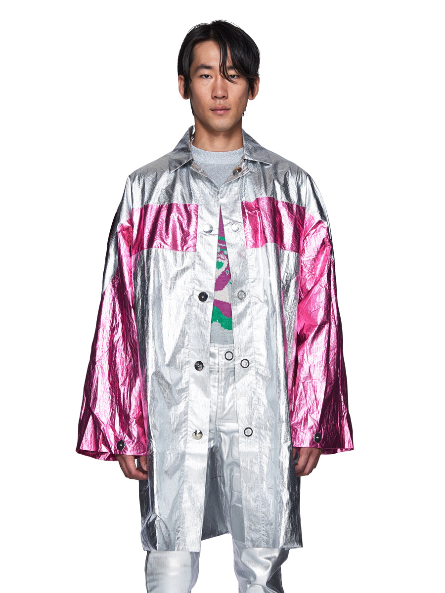 Angus Chiang Fall/Winter 2018 Menswear Aesthetic Raincoat odd92 - 4