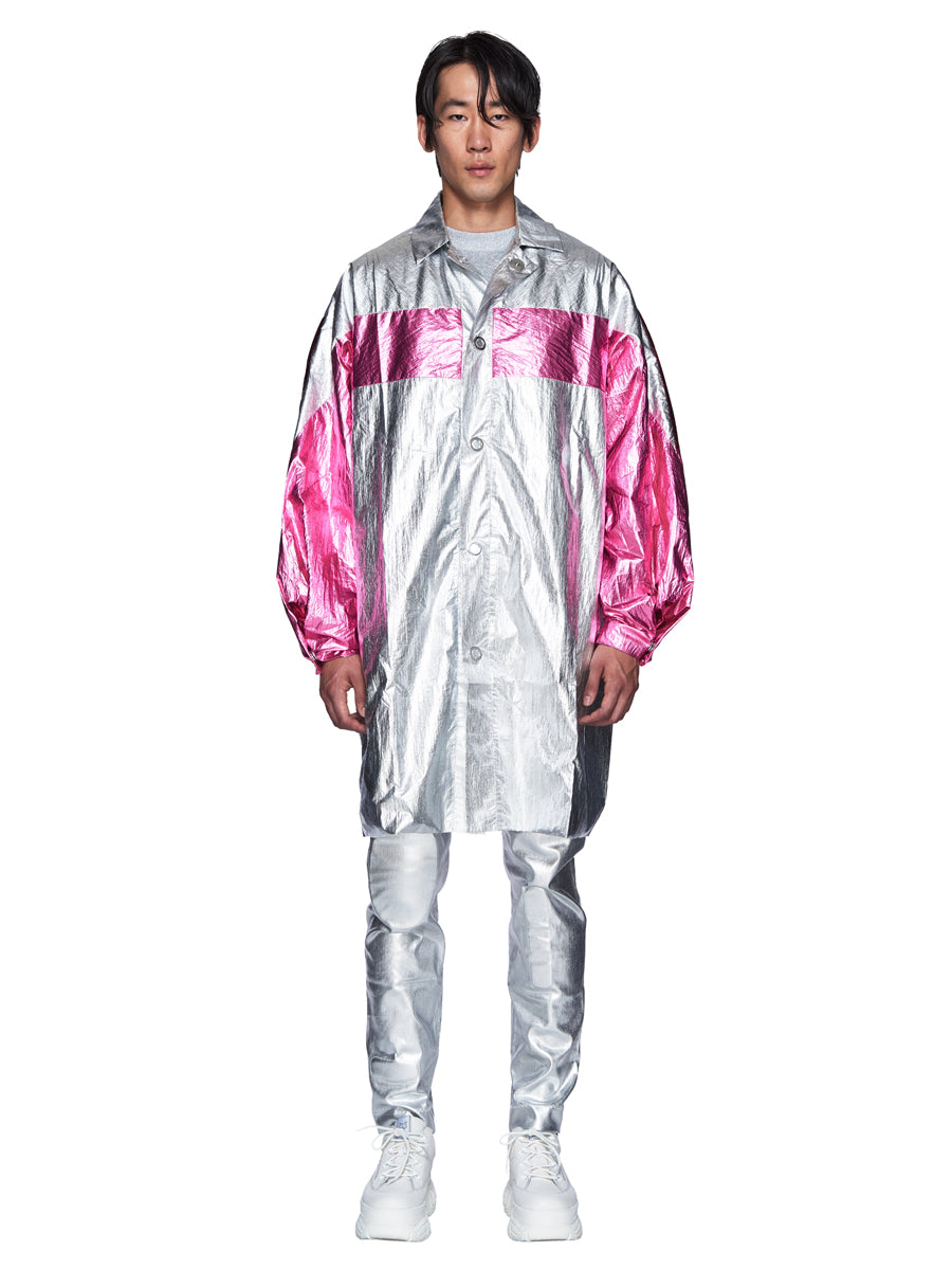 Angus Chiang Fall/Winter 2018 Menswear Aesthetic Raincoat odd92 - 6
