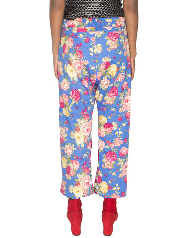 Drop Crotch Wide Leg Trousers
