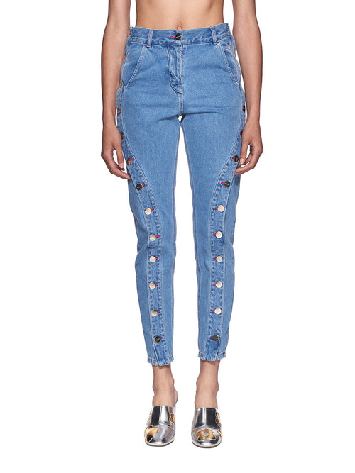 Neith Nyer SS18 Bleached Boyfriend Jeans - 1