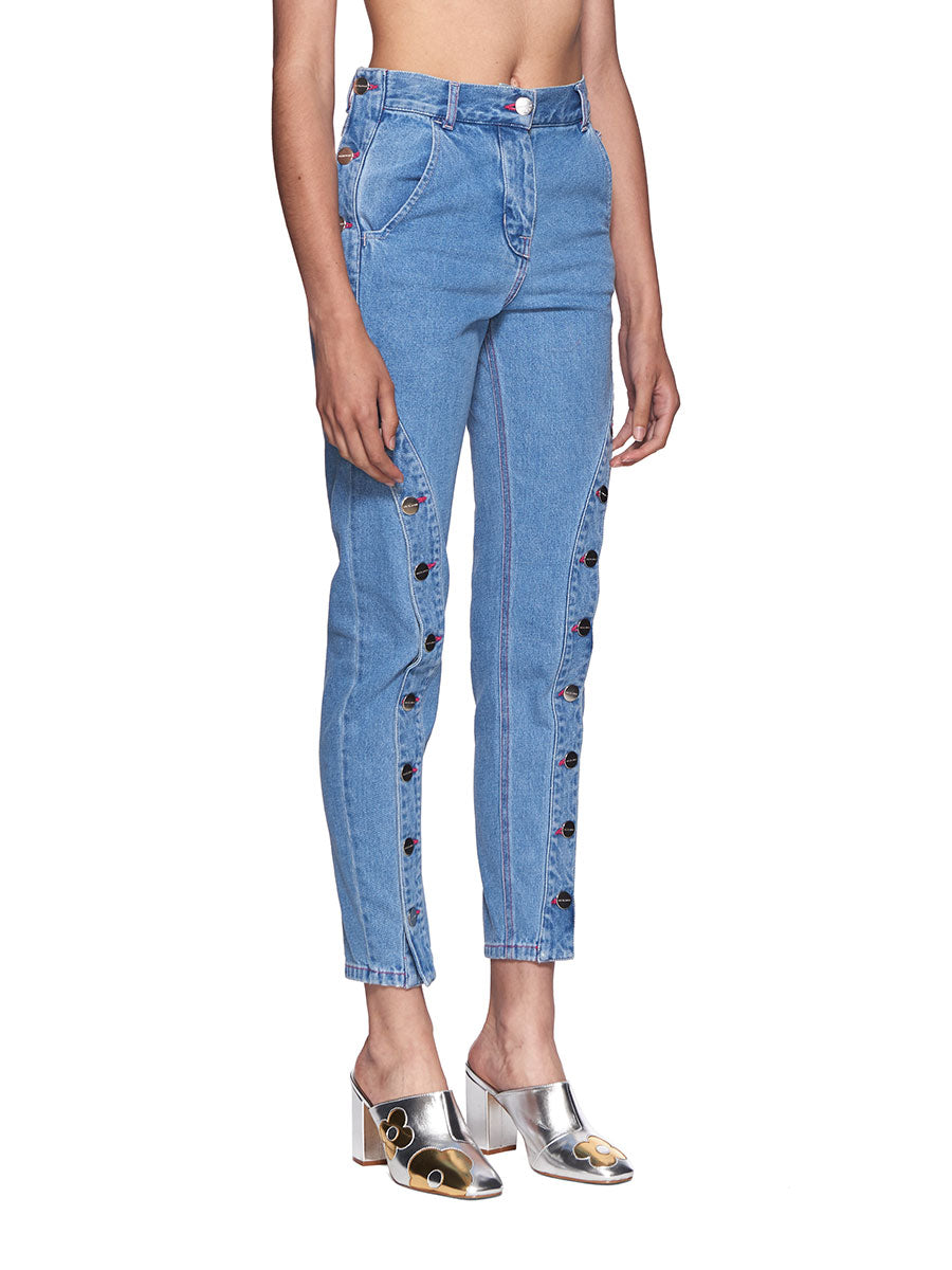 Neith Nyer SS18 Bleached Boyfriend Jeans - 2