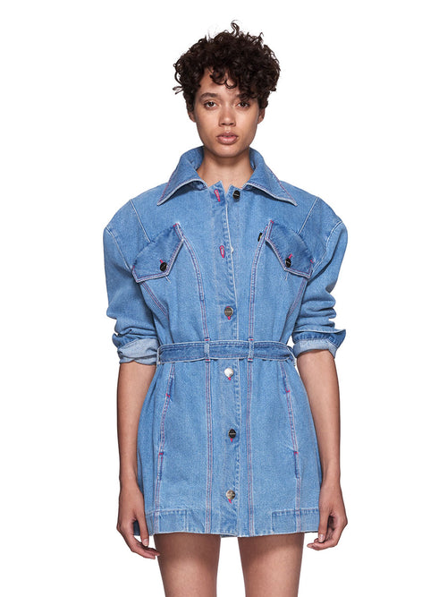 Neith Nyer SS18 Mariah Denim Coat - 1