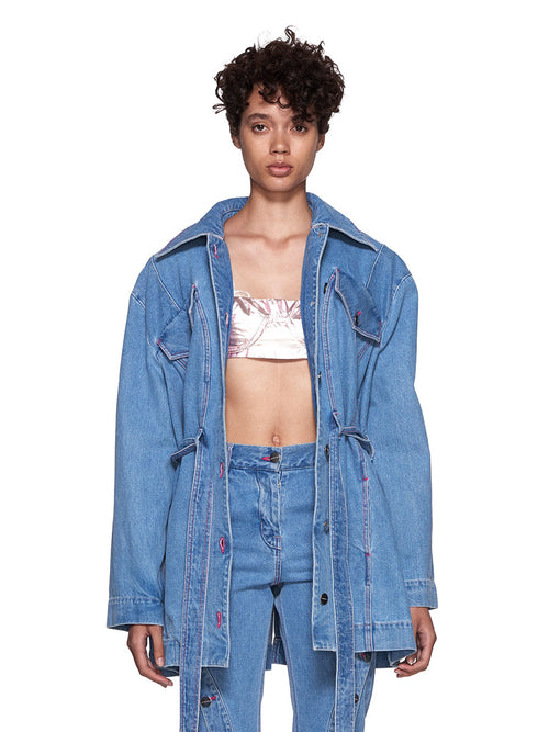 Neith Nyer SS18 Mariah Denim Coat - 2