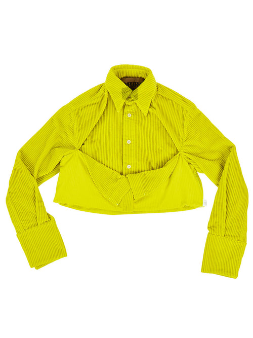 Cropped Neon Shirt