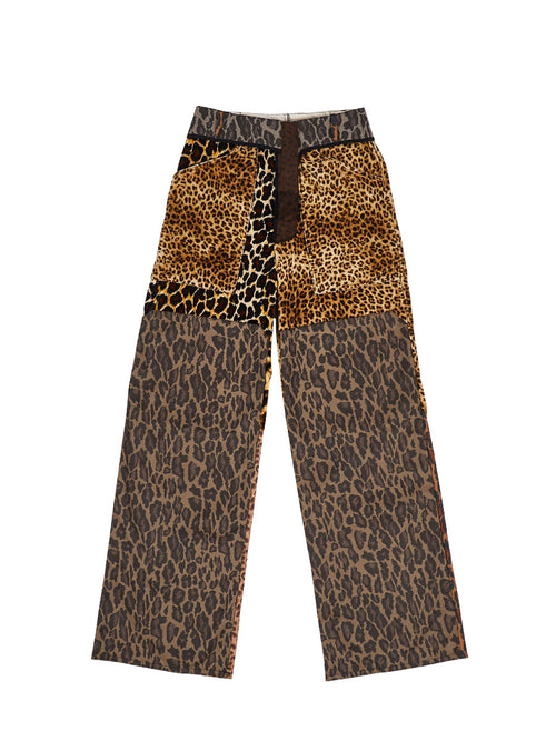 Triple Leopard Trousers