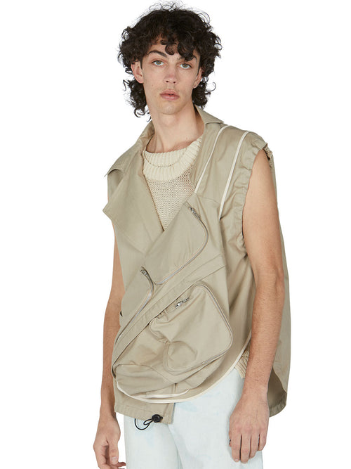 odd92 Per Götesson Spring/Summer 2019 Menswear Crossbody Bag Vest - 2