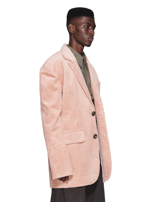 Chin Menswear Intl. Pink Corduroy Dropped Shoulder Jacket Fall/Winter 2018 Menswear odd92 - 2