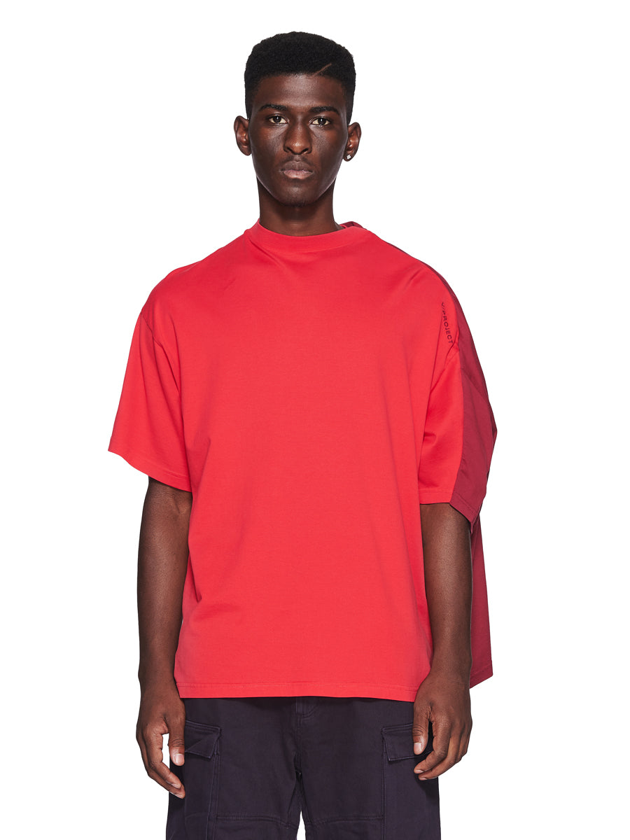Y/Project Fall/Winter 2018 Menswear Red Double Short-Sleeve T-Shirt odd92 - 1
