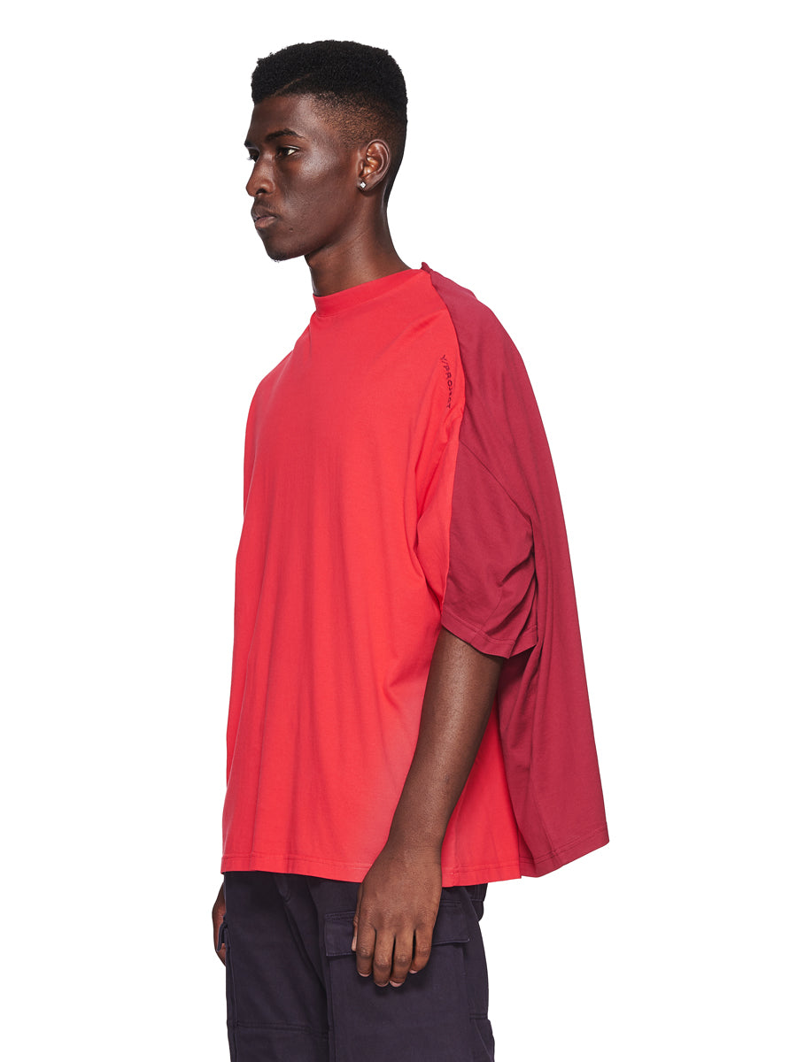 Y/Project Fall/Winter 2018 Menswear Red Double Short-Sleeve T-Shirt odd92 - 3