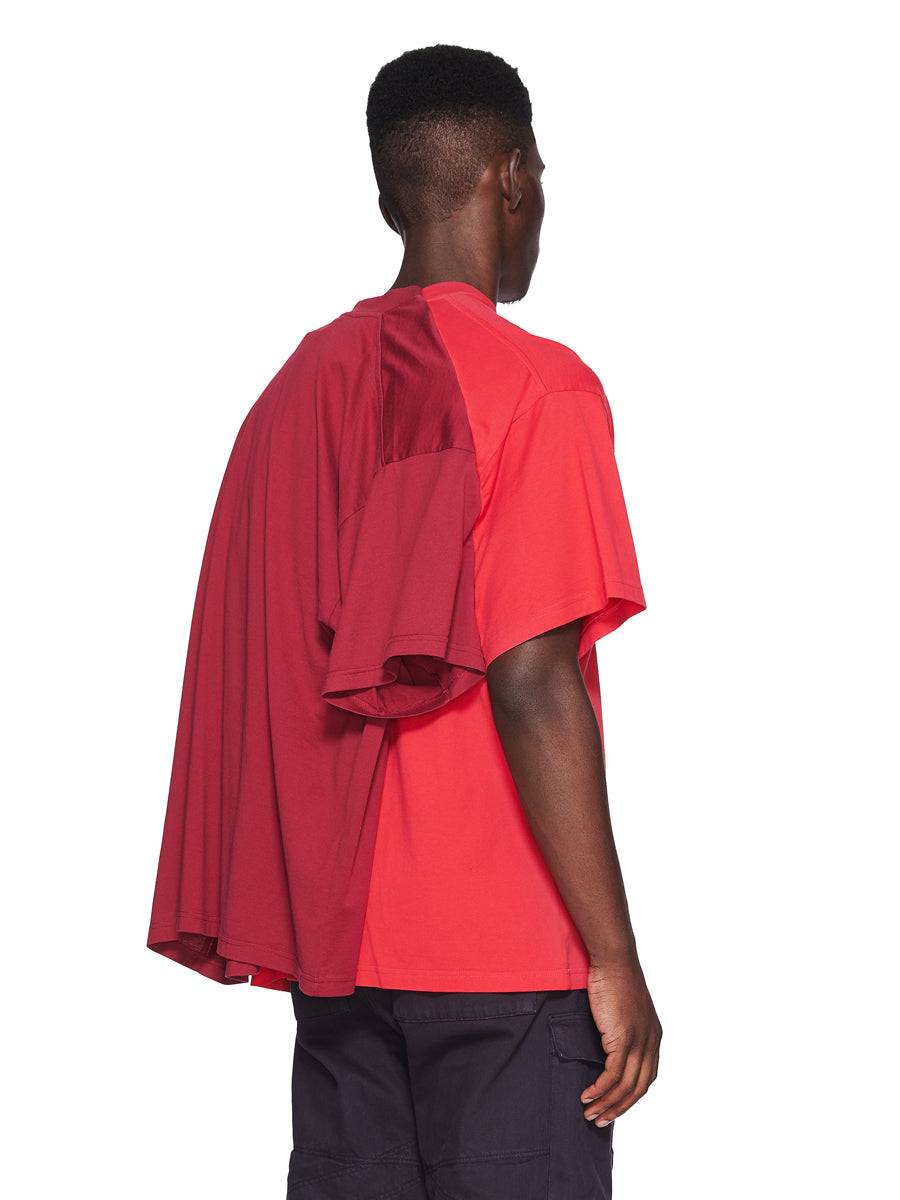 Y/Project Fall/Winter 2018 Menswear Red Double Short-Sleeve T-Shirt odd92 - 2