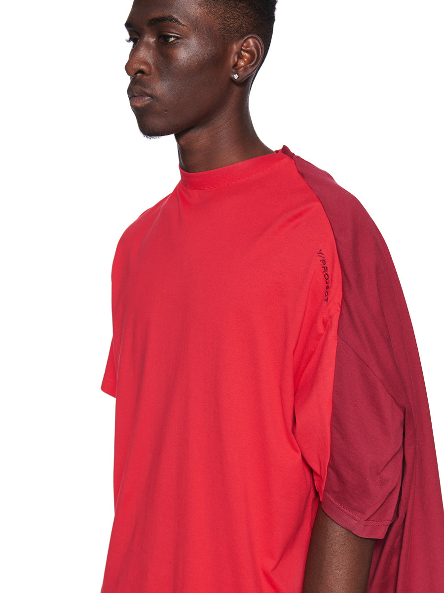 Y/Project Fall/Winter 2018 Menswear Red Double Short-Sleeve T-Shirt odd92 - 5