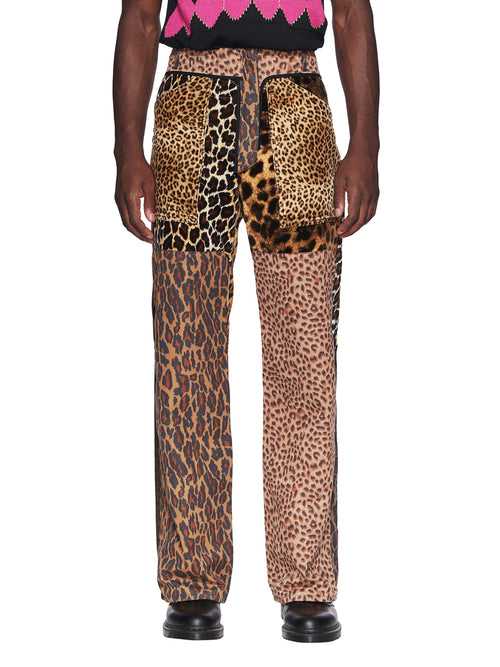 Oloapitreps Fall/Winter 2018 Triple Leopard Trousers odd92 - 1