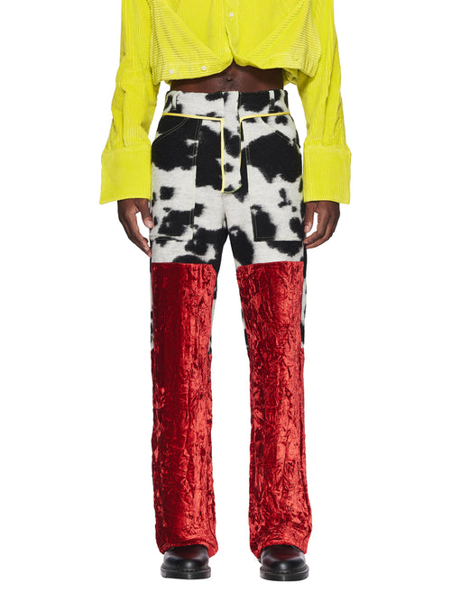 Oloapitreps Fall/Winter 2018 Bloody Cow Trousers odd92 - 1
