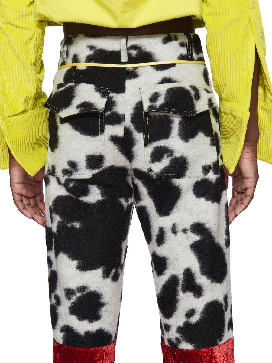 Oloapitreps Fall/Winter 2018 Bloody Cow Trousers odd92 - 5
