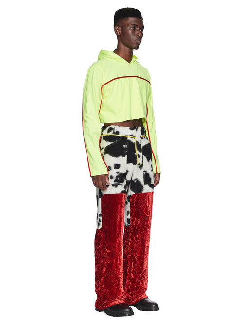 Oloapitreps Fall/Winter 2018 Cropped Neon Top odd92 - 2