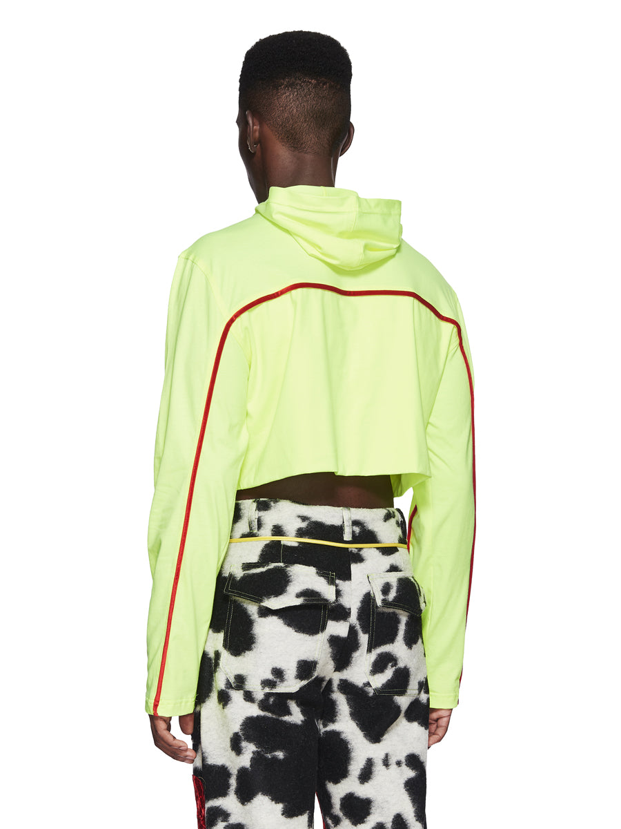 Oloapitreps Fall/Winter 2018 Cropped Neon Top odd92 - 3