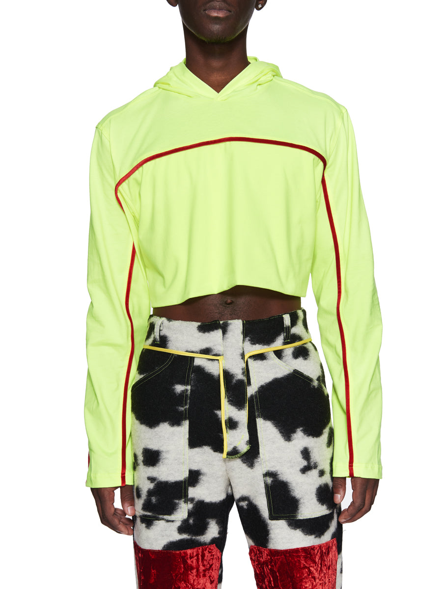 Oloapitreps Fall/Winter 2018 Cropped Neon Top odd92 - 4