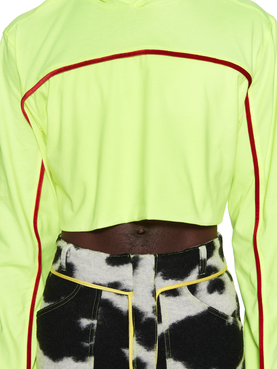 Oloapitreps Fall/Winter 2018 Cropped Neon Top odd92 - 5