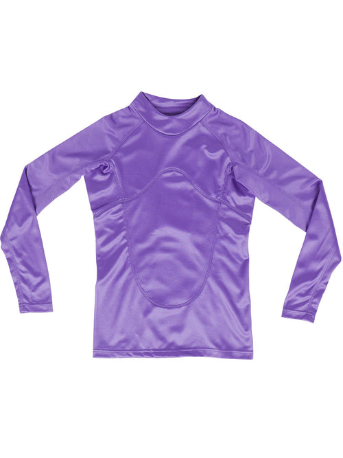 odd92 Sankuanz Purple Paneled Long-Sleeve T-Shirt Spring/Summer 2019 Menswear - 1