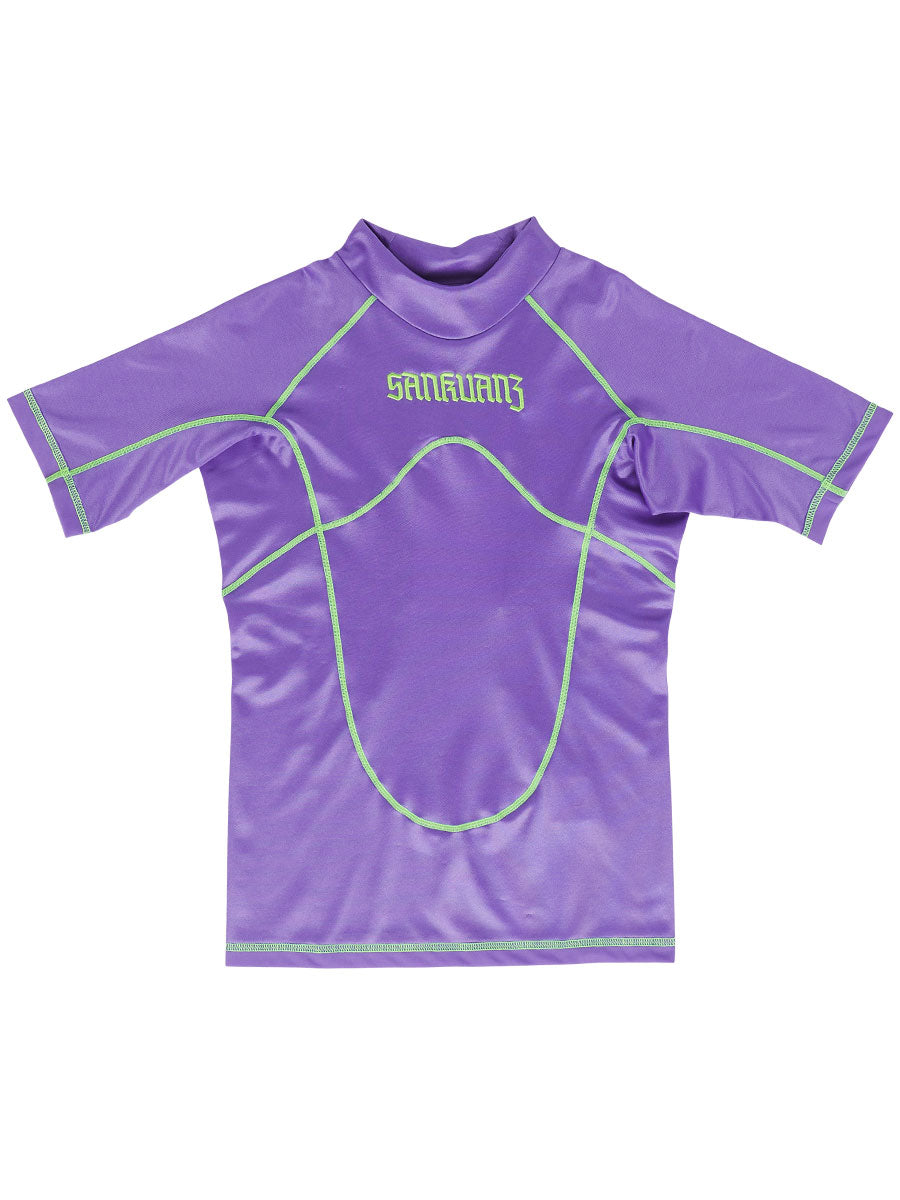 odd92 Sankuanz Purple Paneled T-Shirt Spring/Summer 2019 Menswear - 1