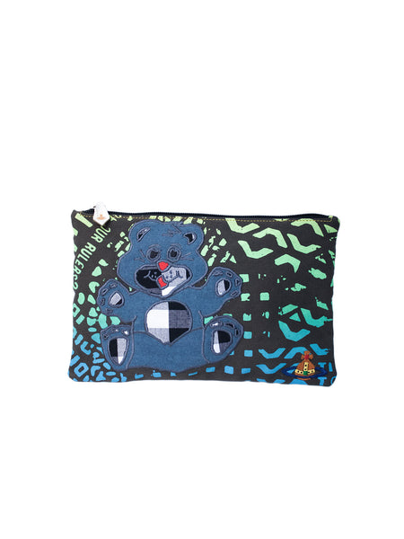 VIVIENNE WESTWOOD ANGLOMANIA  Manhole Teddy Zip Pouch - 1