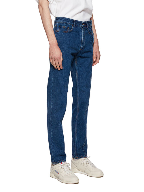 Y/Project Blue Multi Fly Jeans - 3