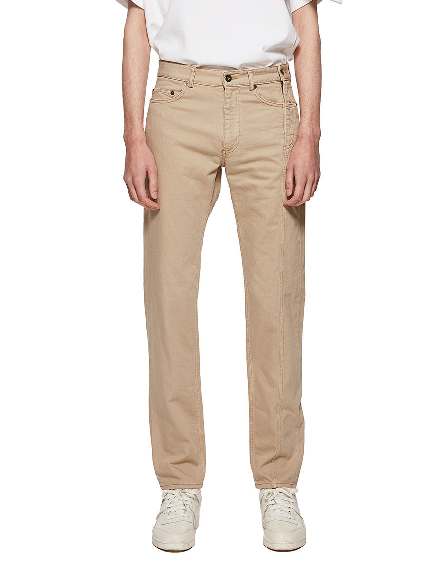 Y/Project Sand Multi Fly Jeans - 1