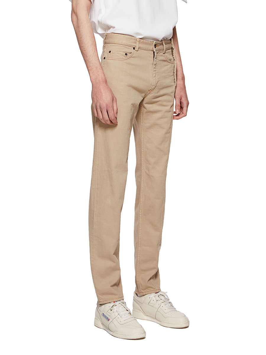 Y/Project Sand Multi Fly Jeans - 4