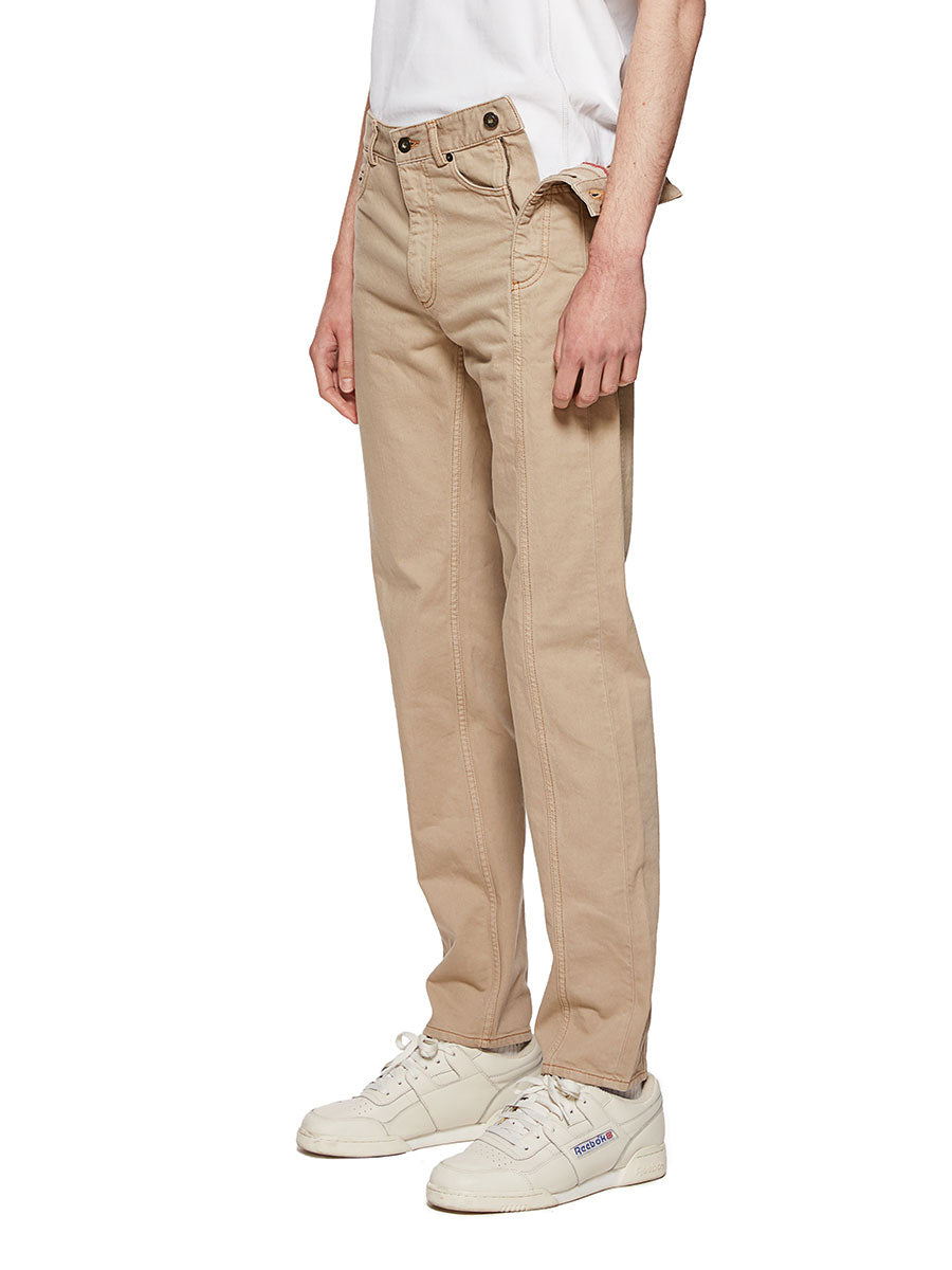 Y/Project Sand Multi Fly Jeans - 3