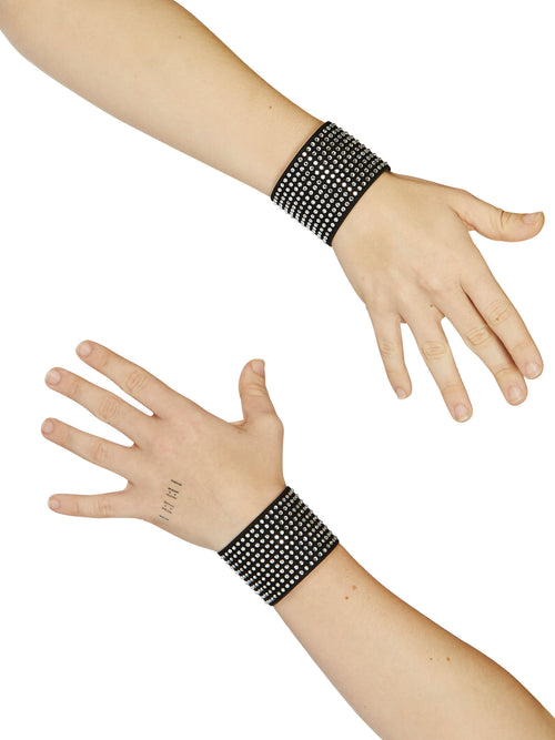 odd92 Adam Selman Sport Crystal Wristbands Spring/Summer 2019 Womenswear Activewear - 2