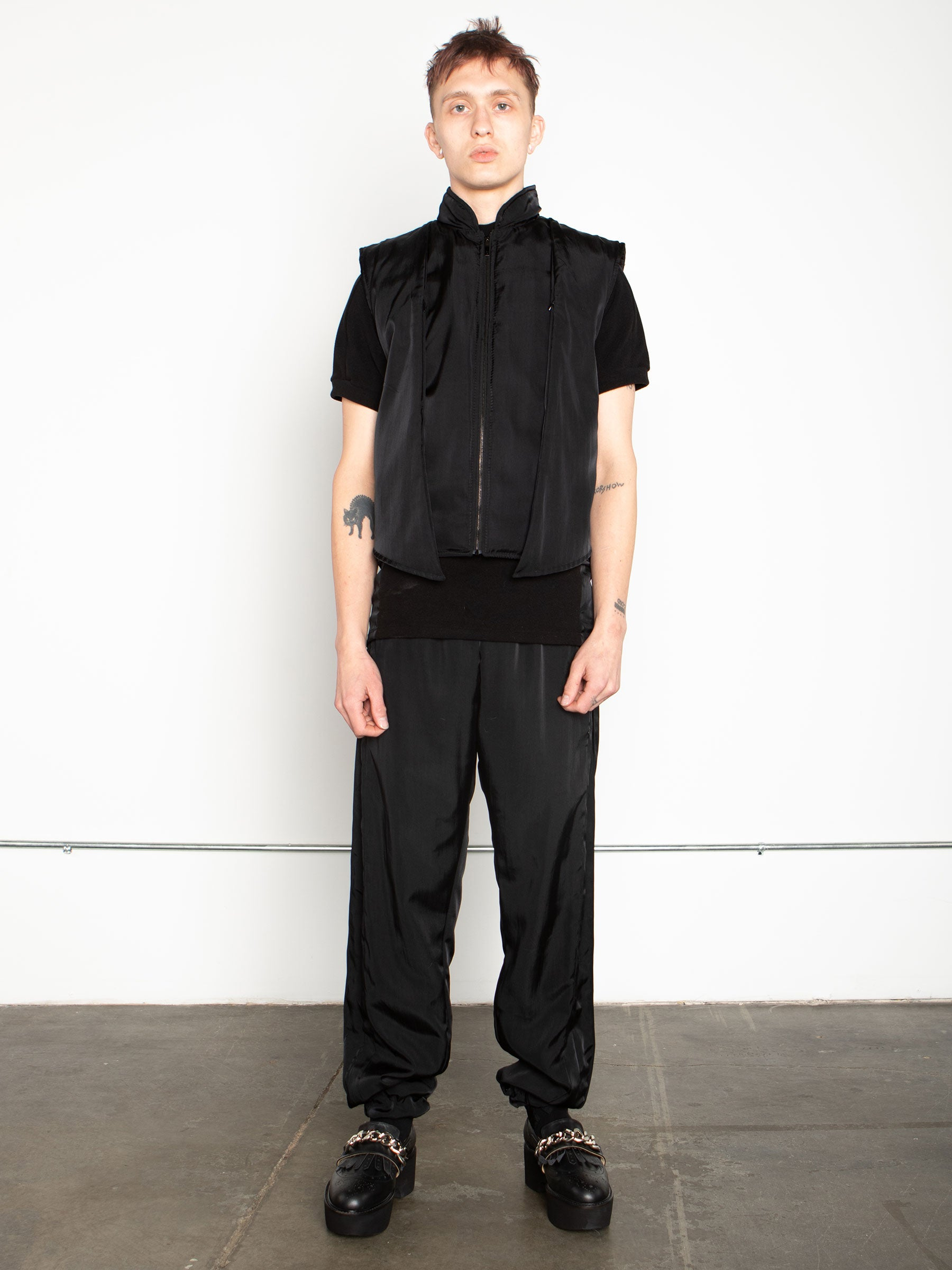 odd92 Shop Cottweiler Spring/Summer 2020 Menswear Black Caddie Track Pants - 2