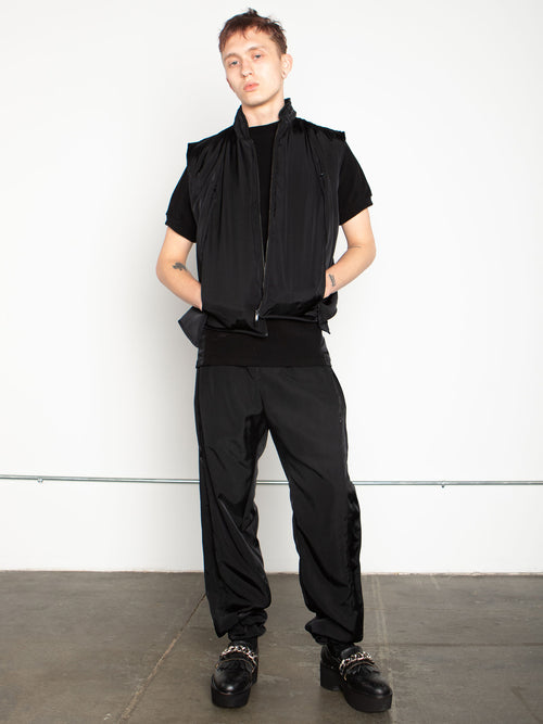 odd92 Shop Cottweiler Spring/Summer 2020 Menswear Black Caddie Puffer Vest - 2