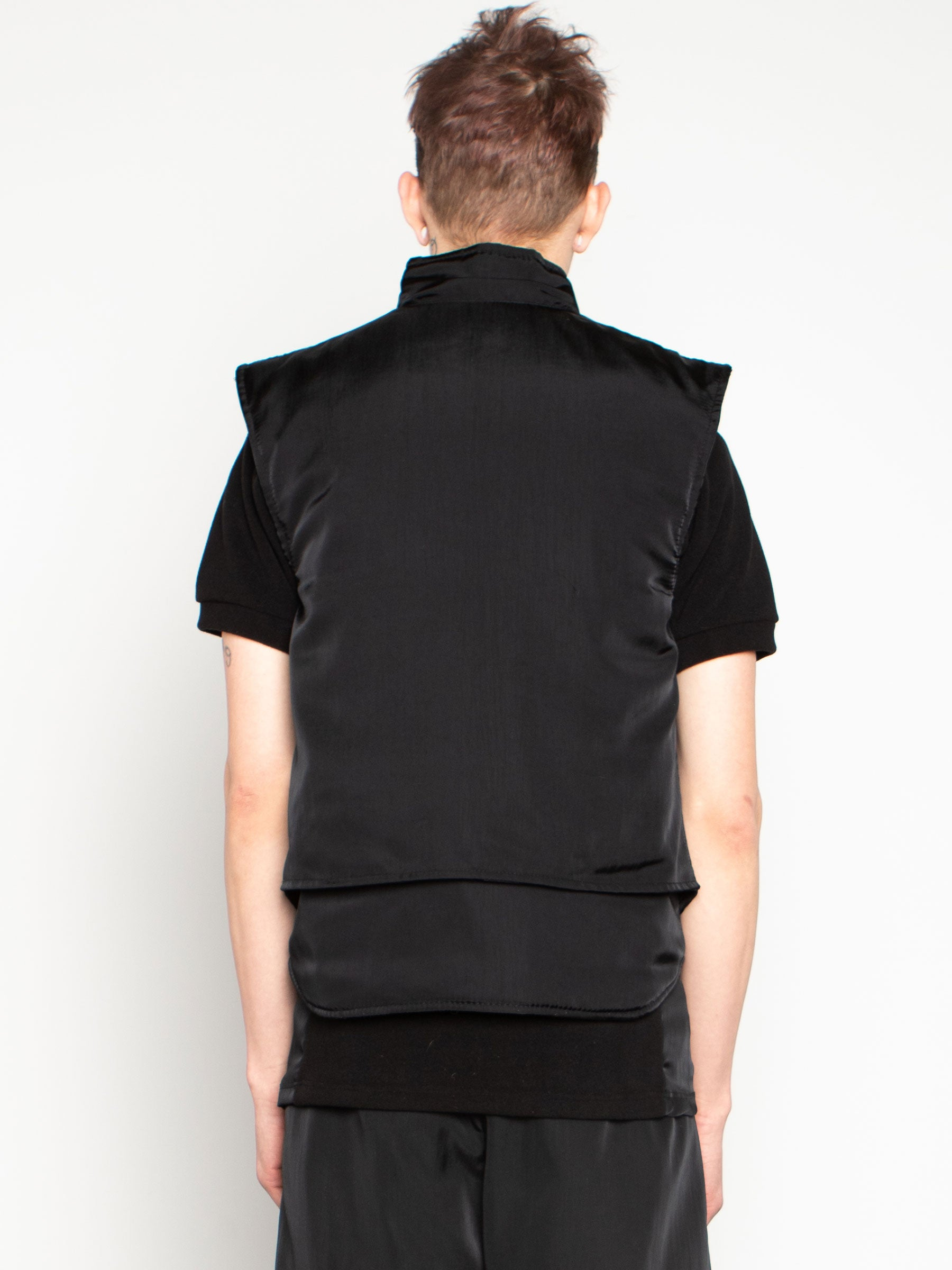 odd92 Shop Cottweiler Spring/Summer 2020 Menswear Black Caddie Puffer Vest - 5