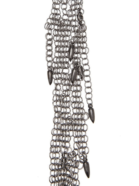 MICHAEL SCHMIDT  Chainmaille Scarf Necklace - 3