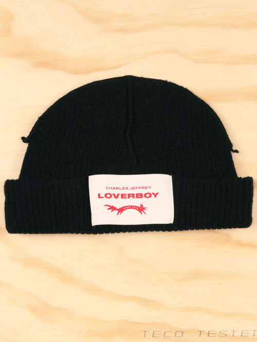 odd92 Charles Jeffrey Loverboy Spring/Summer 2020 Black Loverboy Beanie - 2