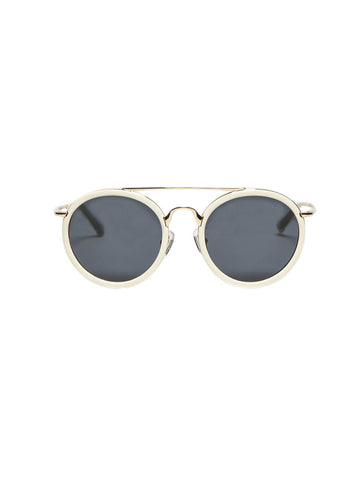 Dries Van Noten - Bone Sunglasses