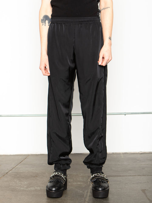 odd92 Shop Cottweiler Spring/Summer 2020 Menswear Black Caddie Track Pants - 1