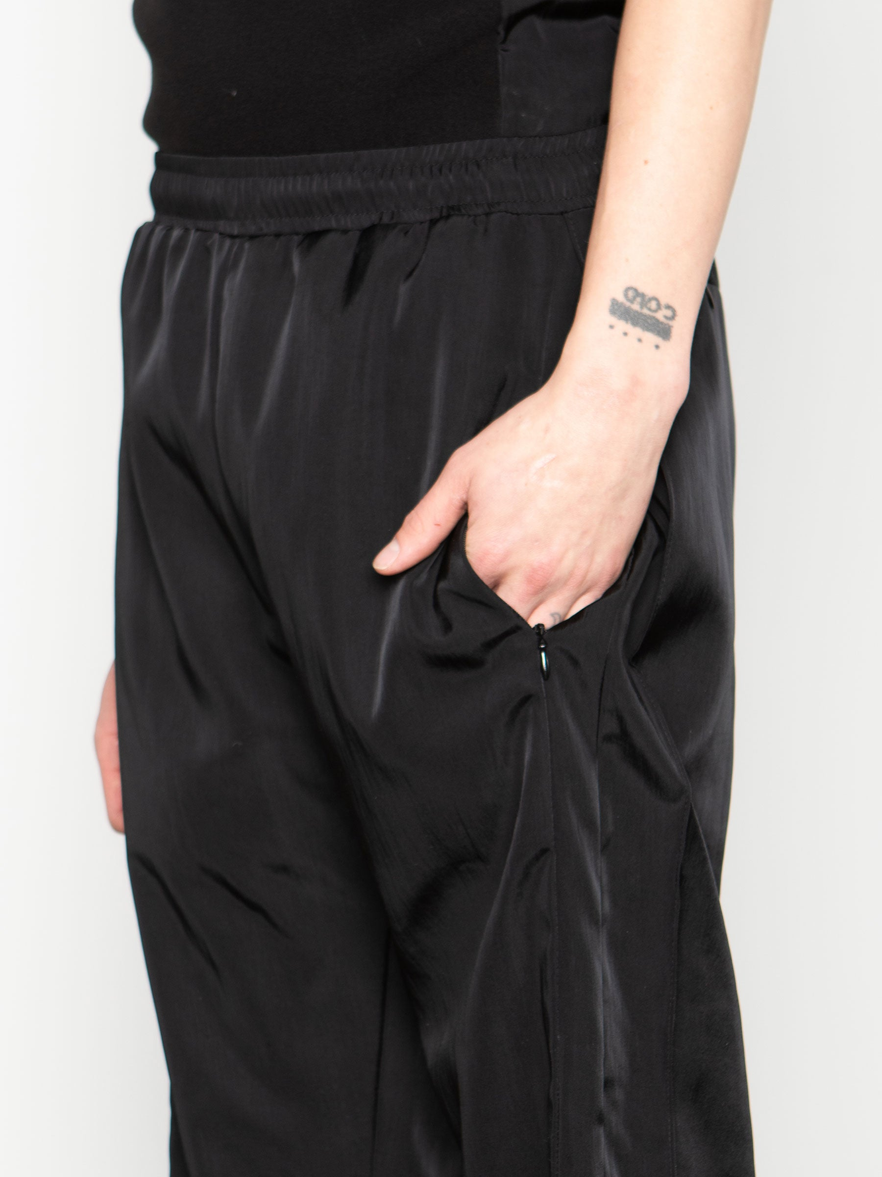 odd92 Shop Cottweiler Spring/Summer 2020 Menswear Black Caddie Track Pants - 4