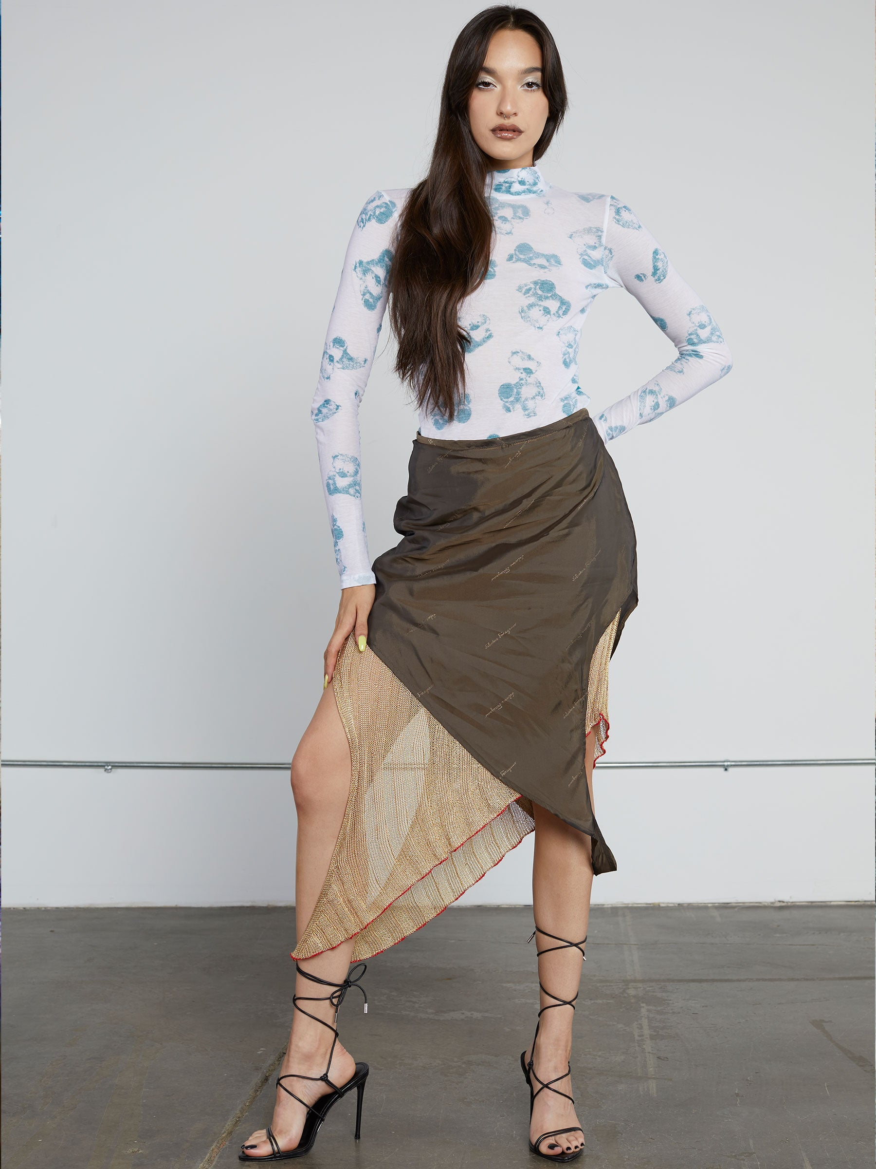 Loop Knit Skirt