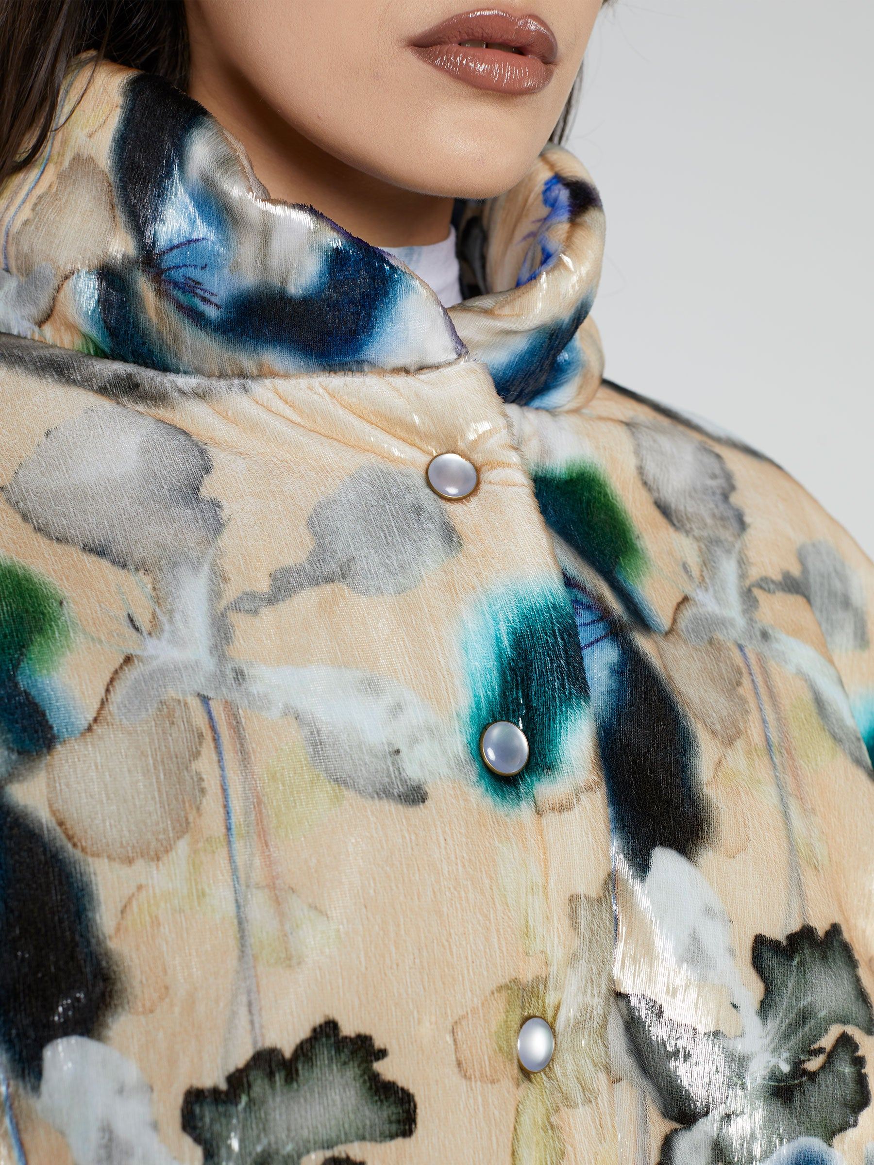 Tinsel Puffer Jacket