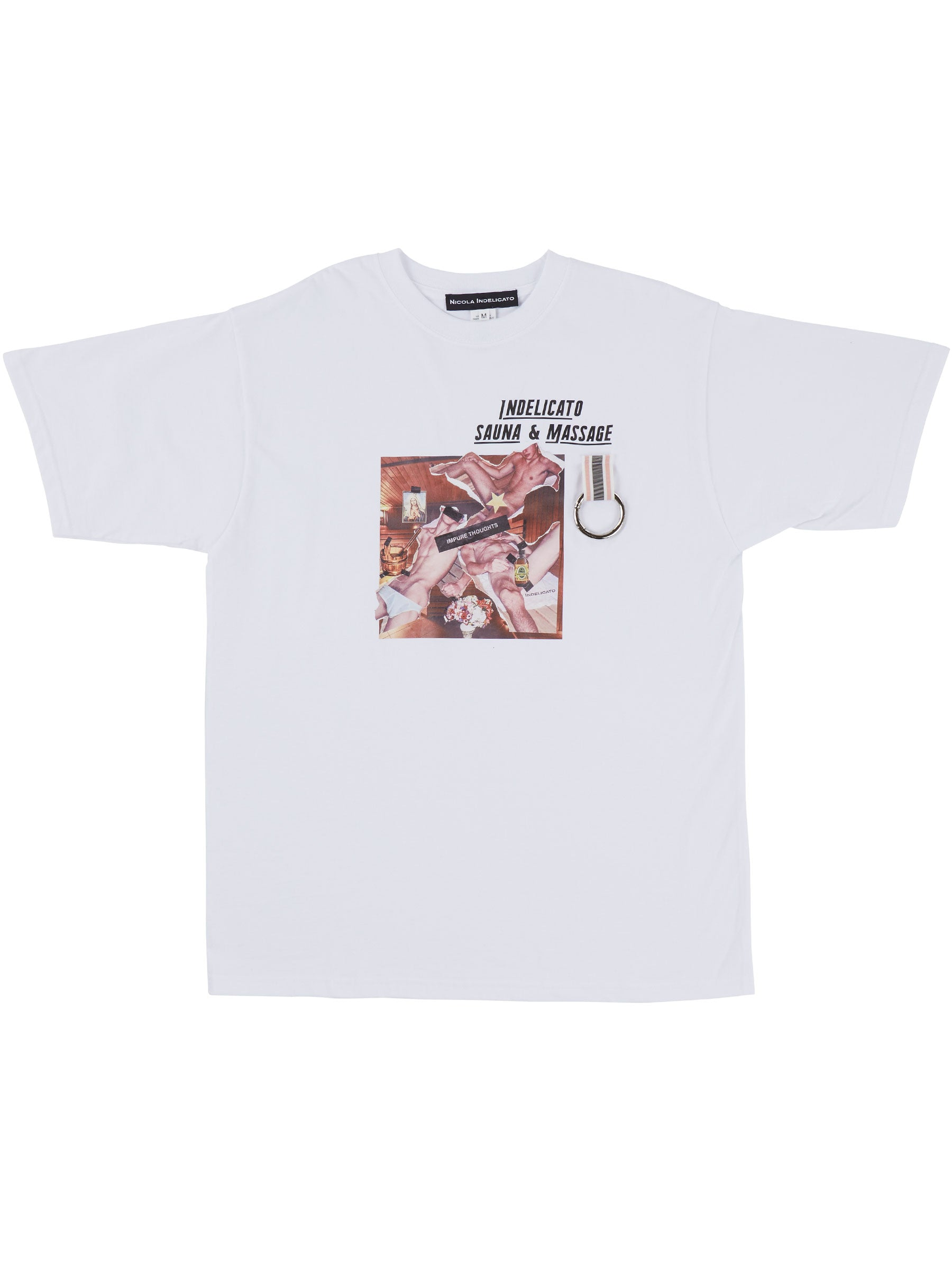 odd92 Nicola Indelicato Sauna & Massage T-Shirt Fall/Winter 2019 Menswear - 1