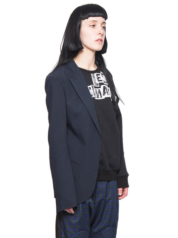 Half Jacket Sweatshirt