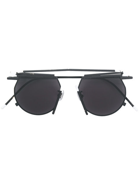 Henrik Vibskov x Gentle Monster Black Match Sunglasses - 1